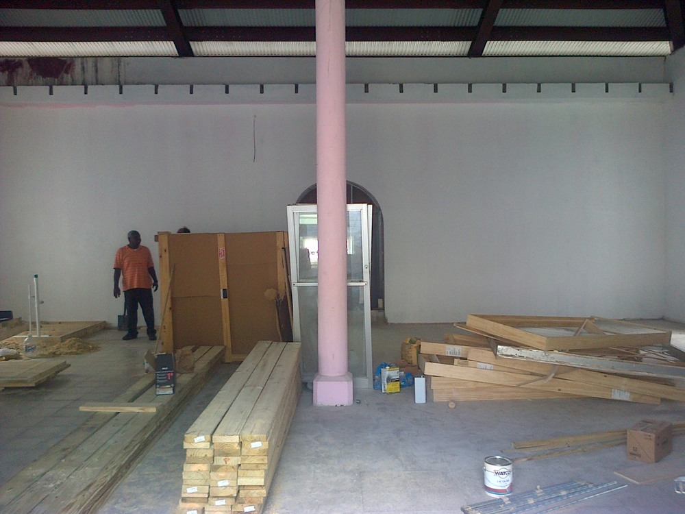 Fireproof Building, starting to get really exciting now! Still on track for October opening