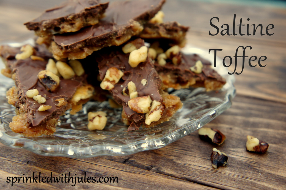 Saltine Toffee