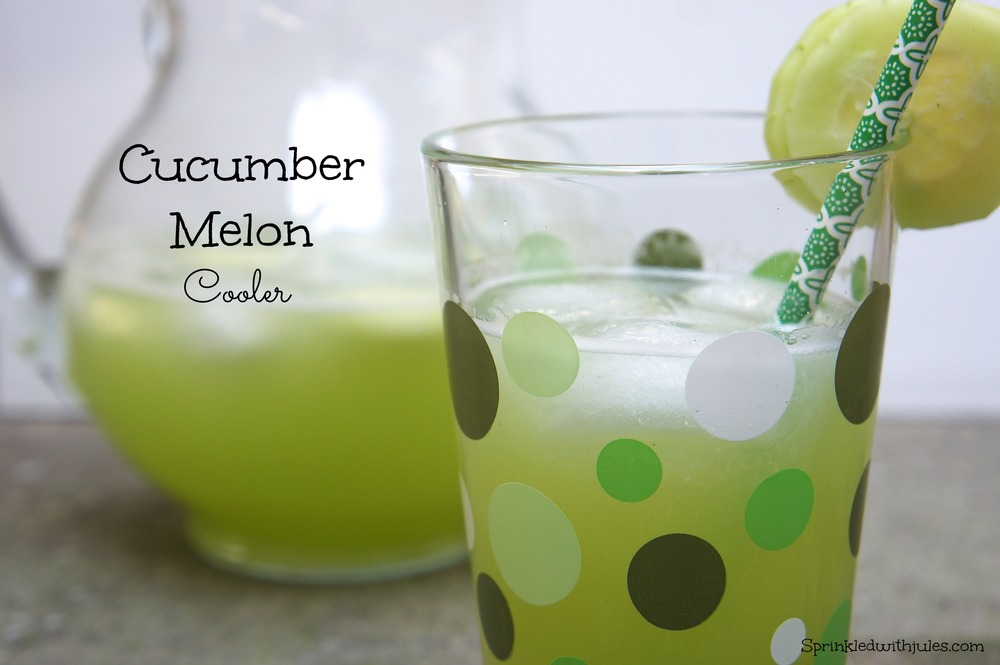 Cucumber Melon Cooler / Sprinkled With Jules