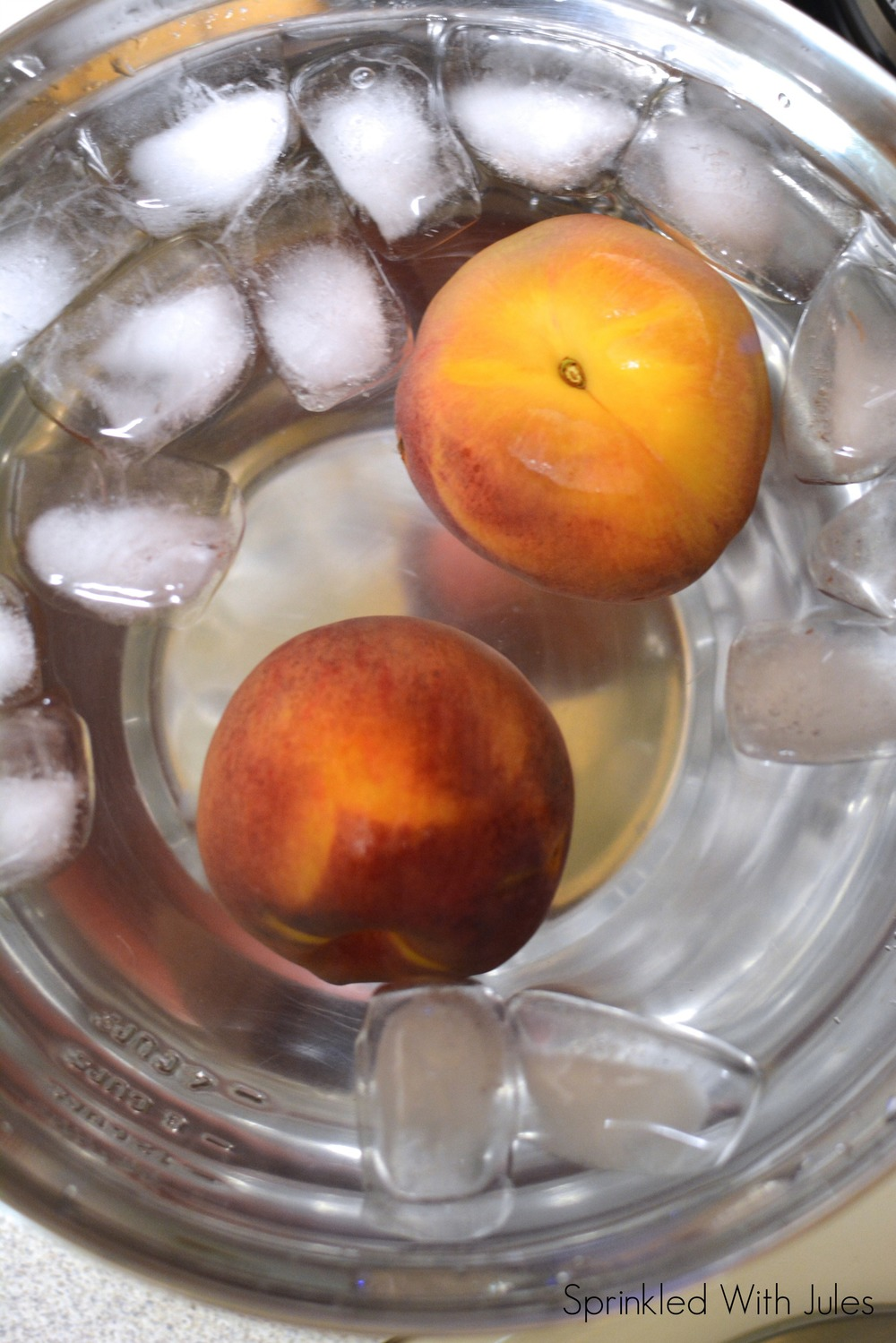 How To Blanch Peaches / Sprinkled With Jules