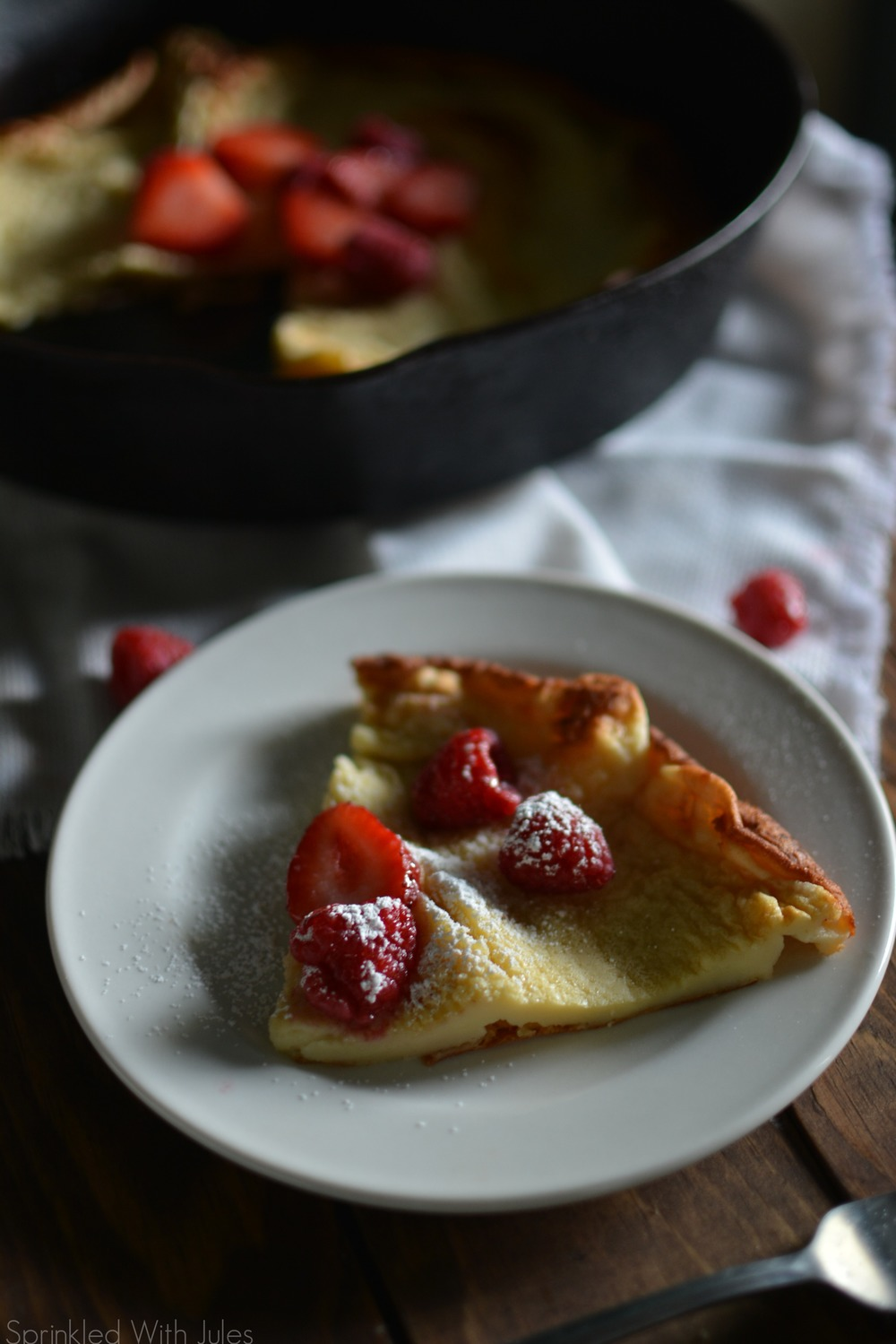 German Pancakes aka Dutch Babies / Sprinkled With Jules