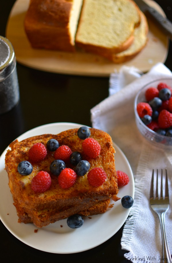 Brioche French Toast / Sprinkled With Jules