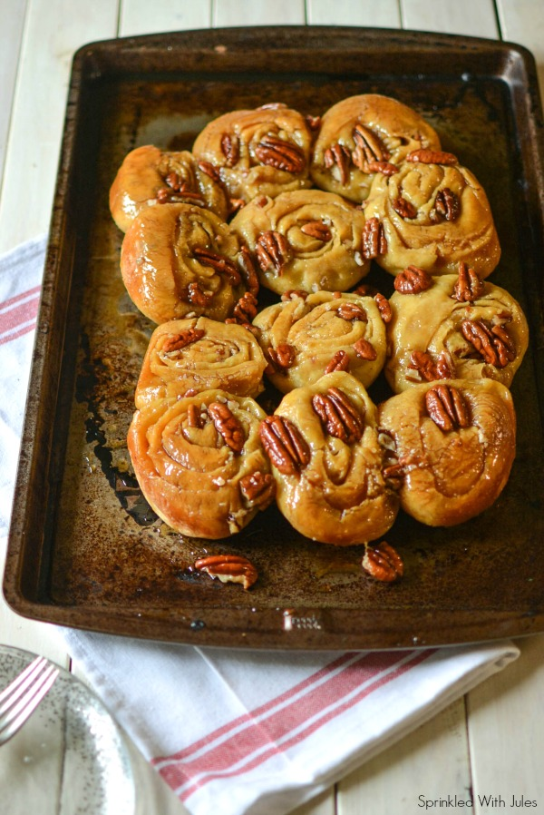 Sticky Pecan Rolls / Sprinkled With Jules