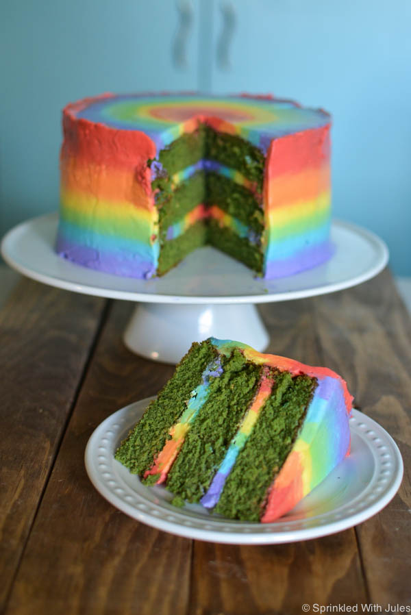 Rainbow Layer Cake Frosting