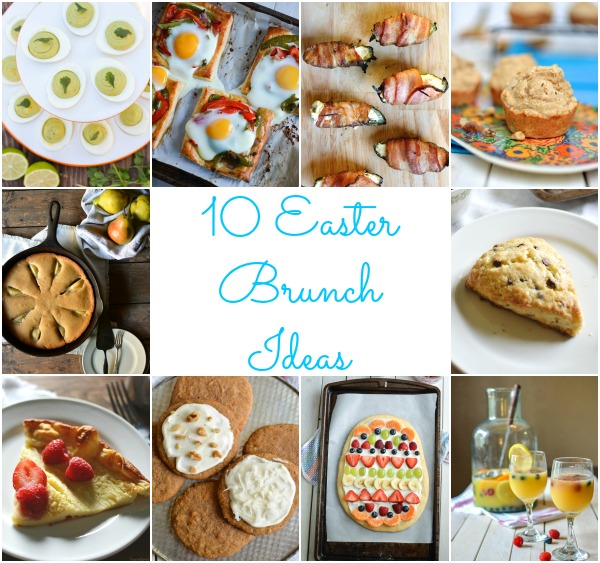 10 Easter Brunch Ideas / Sprinkled With Jules
