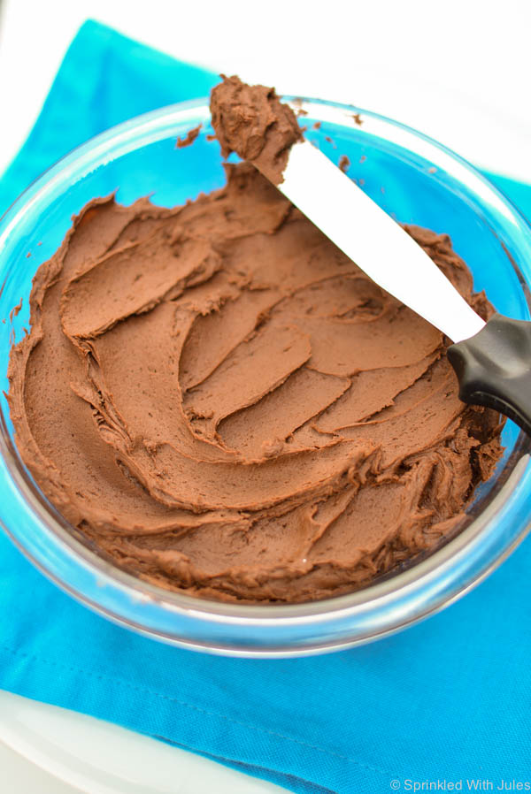 Rich and fudgy chocolate frosting