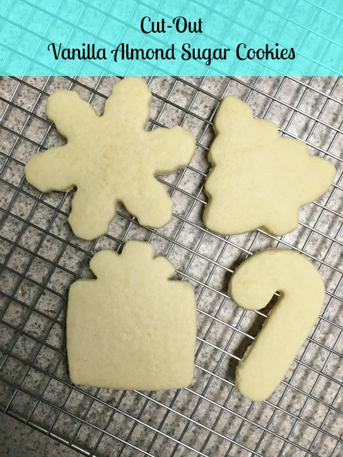 Cut Out Vanilla Almond Sugar Cookies