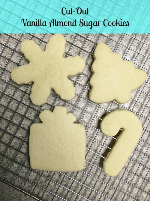 Cut Out Vanilla Almond Sugar Cookies