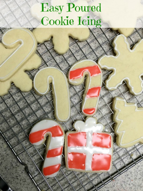 easy cookie icing for christmas cookies