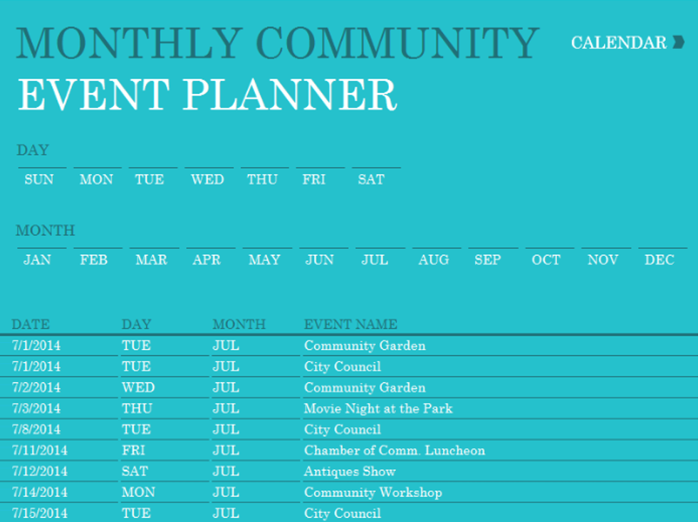 Calendars — WorkTank Solutions