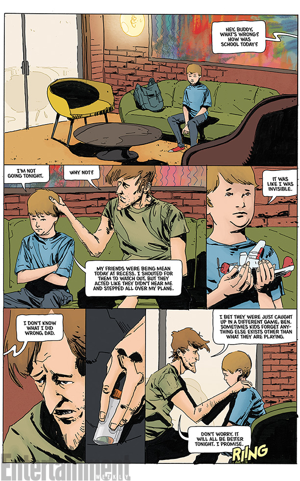 Neverboy Issue 1 Page