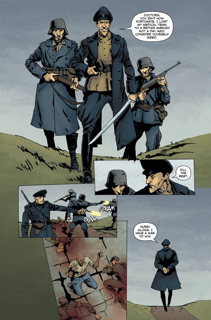 Peter Panzerfaust #23 Page
