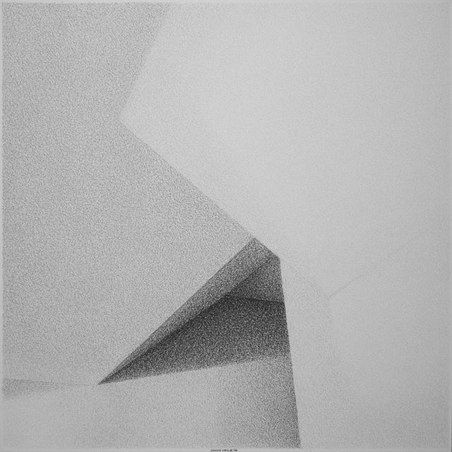 Arrows of silver. Hearts of gold. (Perspective 4: October 12, 1987 - October 12, 1988) [c. 2015 - charcoal on 250g paper - 18 1/4 in. x 18 1/4 in.] • • • • #modernart #modernartist #modernism #modernist #contemporaryart #contemporaryartist #minimal #minimalism #minimalist #minimalart #minimalmood #mindtheminimal #minimalove #mnml #minimalzine #minimalism42 #abstract #architecture #architectural #architexture #charcoal #blackandwhite #bw #shadow #lightandshadow #shadowplay #contrast #texture #geometry