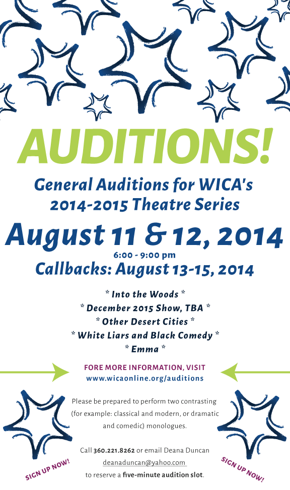WICA Auditions 2014