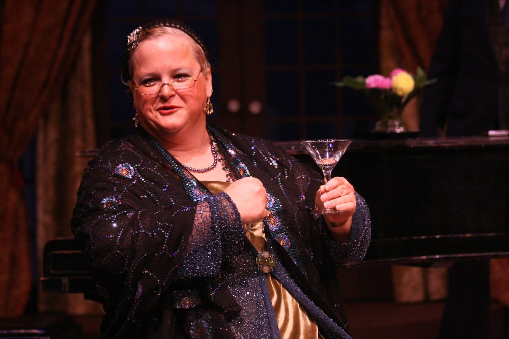Gwen Jones as Madame Arcati in Blithe Spirit - Theatre Series, October 2013 by Tyler Raymond