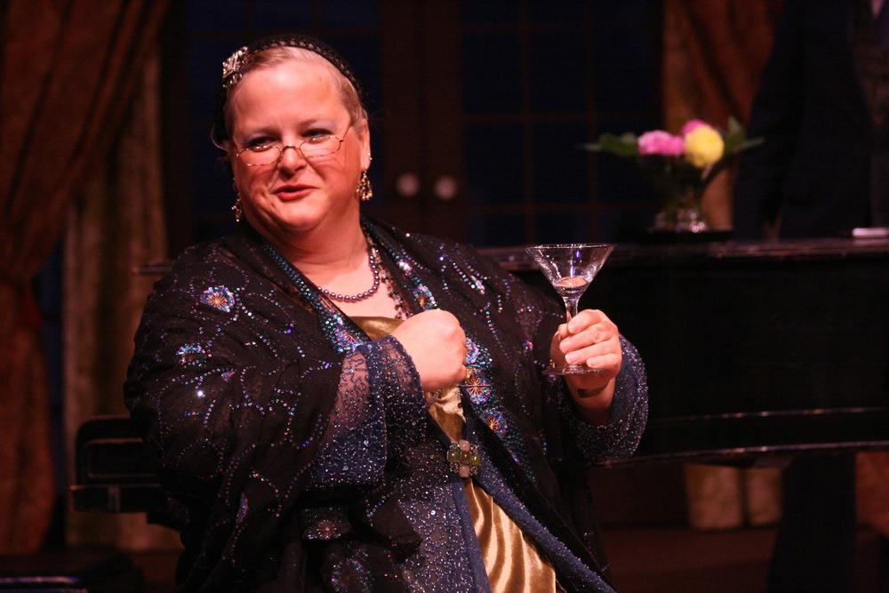 Gwen Jones as Madame Arcati in Blithe Spirit - Theatre Series, October 2013 by Tyler Raymond