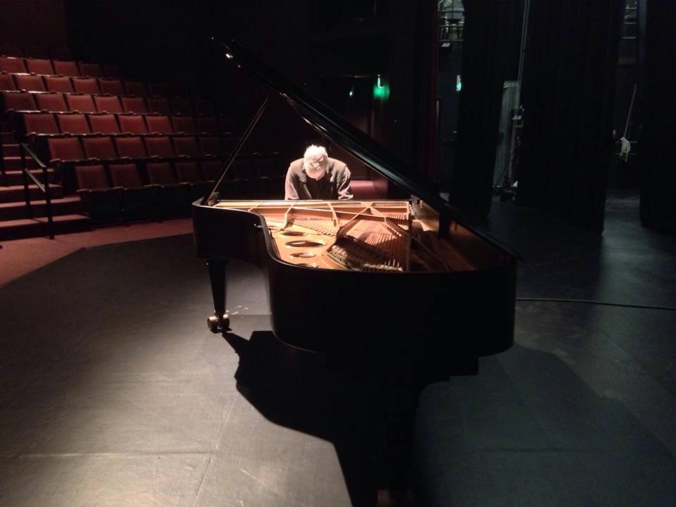 Mark Findlay Rehearses - PianoFest Northwest 2014 by Kathryn Morgen
