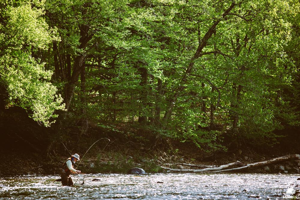 Springtime on the Black River, Vermont.