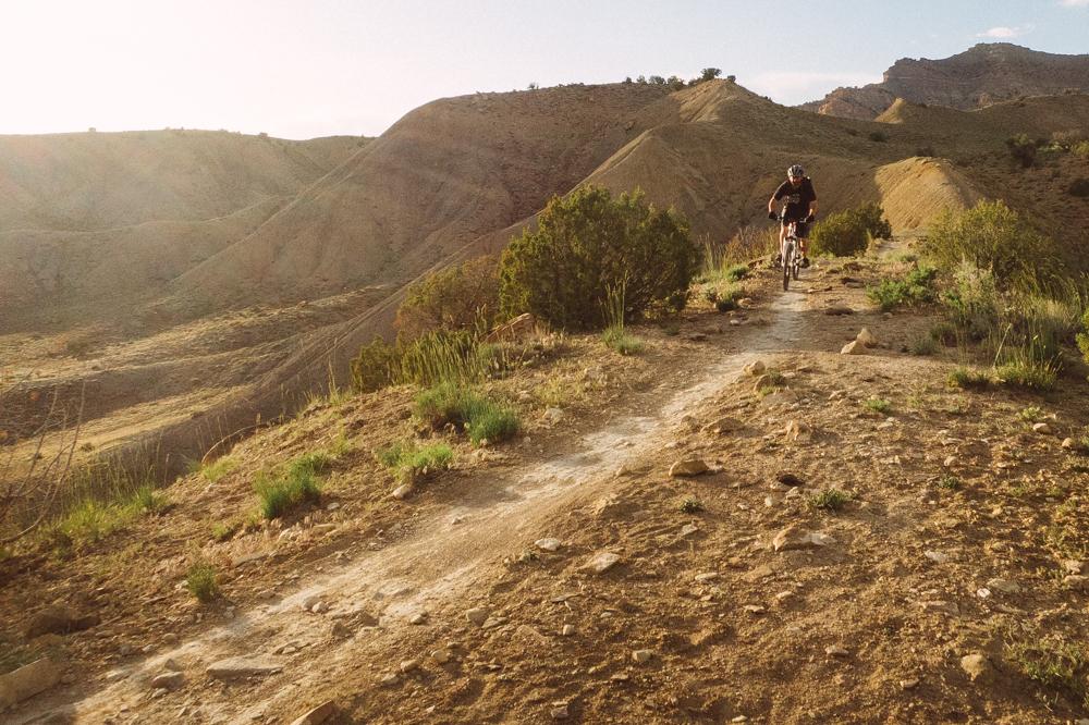 Sun and singletrack at 7 p.m.—gotta love Joe's Ridge. Photo: Mike Horn
