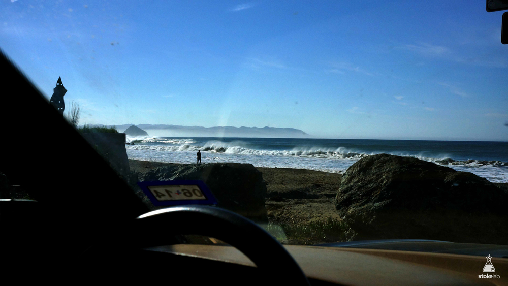 After following the salty guy's directions to the surf spot, we tried the rest of his recommendations. They all worked...
