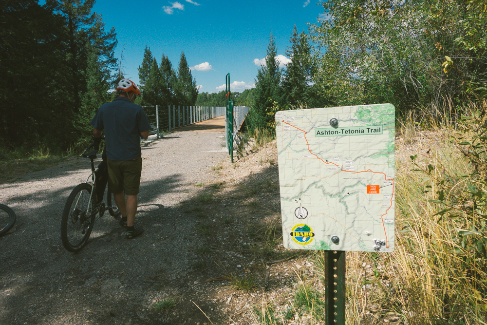 The Ashton to Tetonia Trail is new to the Idaho State Park and Recreational Trailway system.