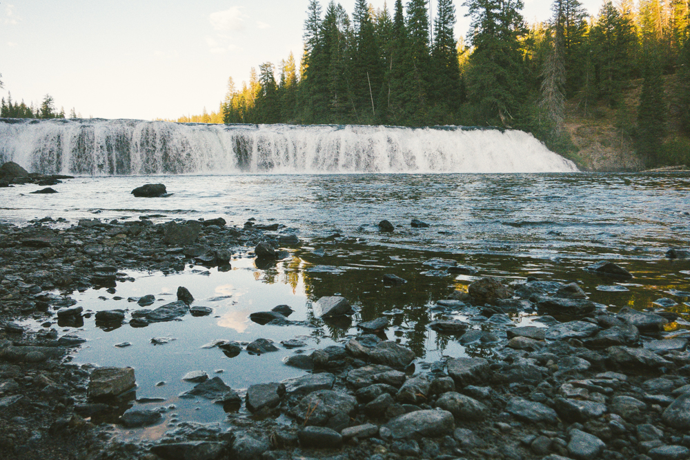 West Yellowstone's Waterfall Country.