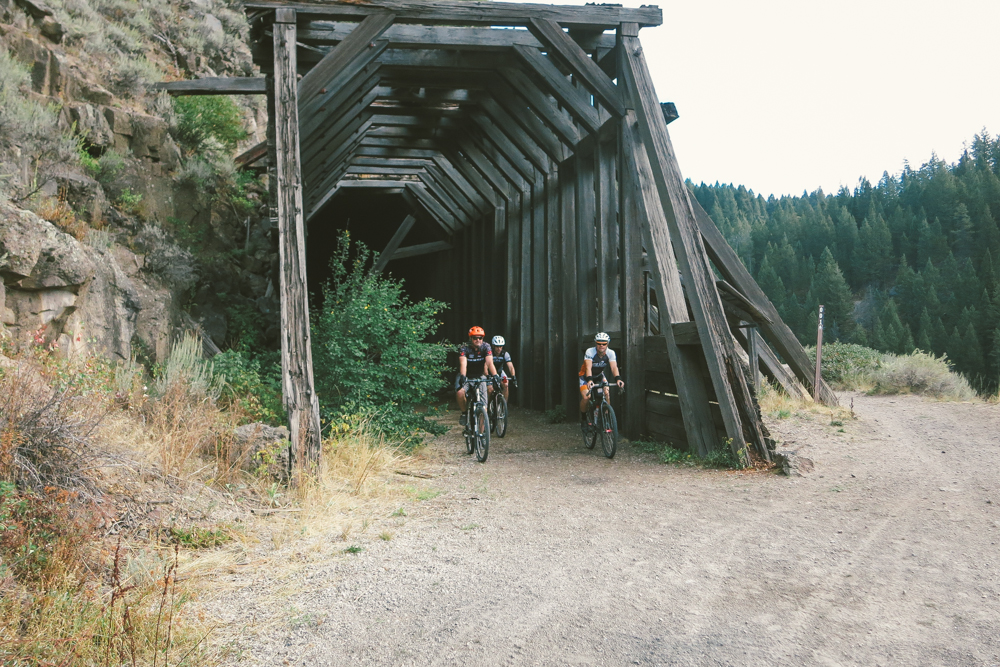 This structure was built in 1915 to protect trains from rockfall.