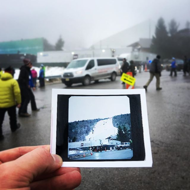 The OG IG. @killingtonmtn for the women's World Cup races. #stokedlife #abitfoggy