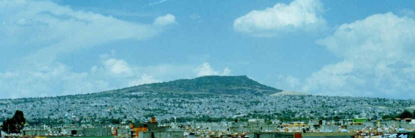 Chiconautla hill, aka Ciudad Cuauhtémoc