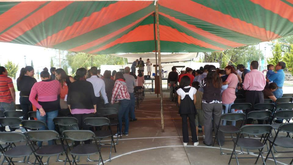 "1st Anniversary of the Tizayuca ""Church in the Park"""