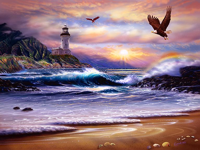 Rainbow Cove Lighthouse
