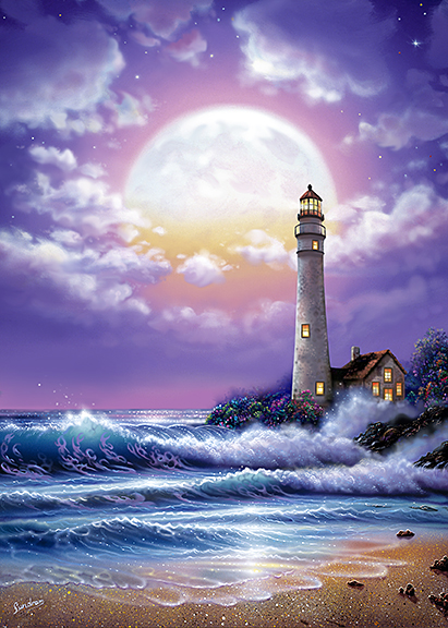 Lighthouse of Dreams ~ purple