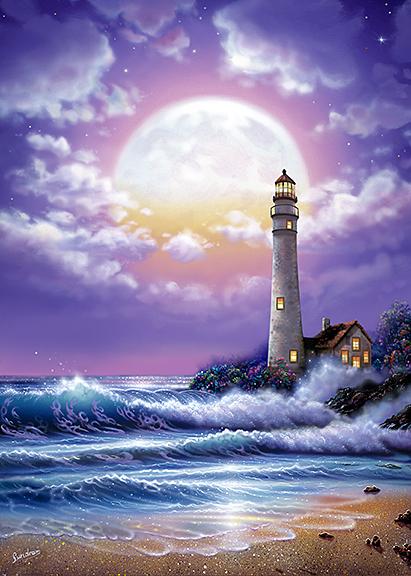 Lighthouse of Dreams ~ purple
