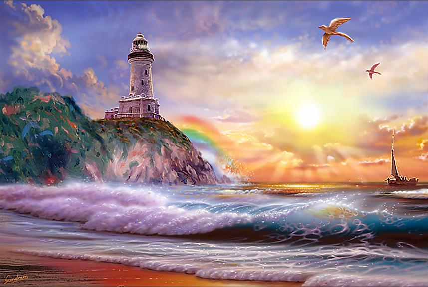 Sunrise Lighthouse II