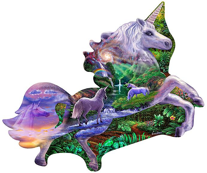 Unicorn shape Kingdom