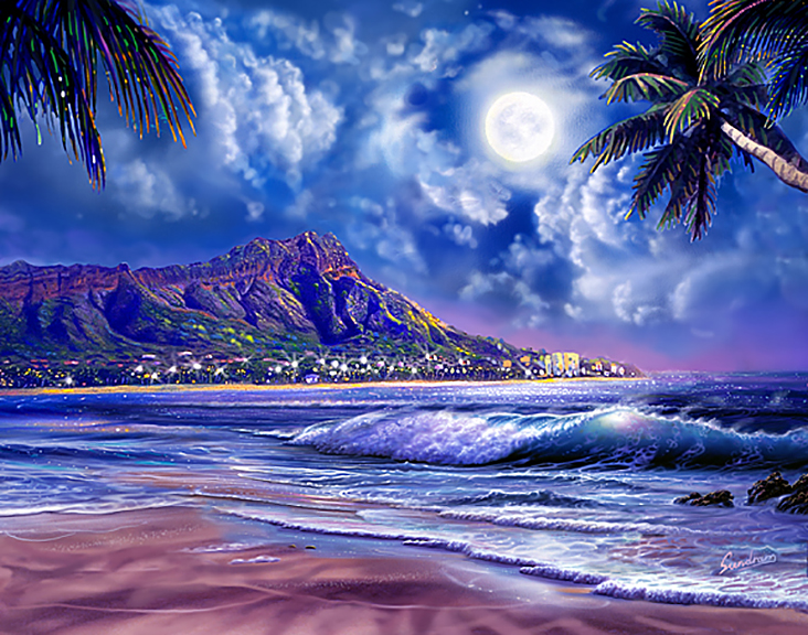 Waikiki Moon