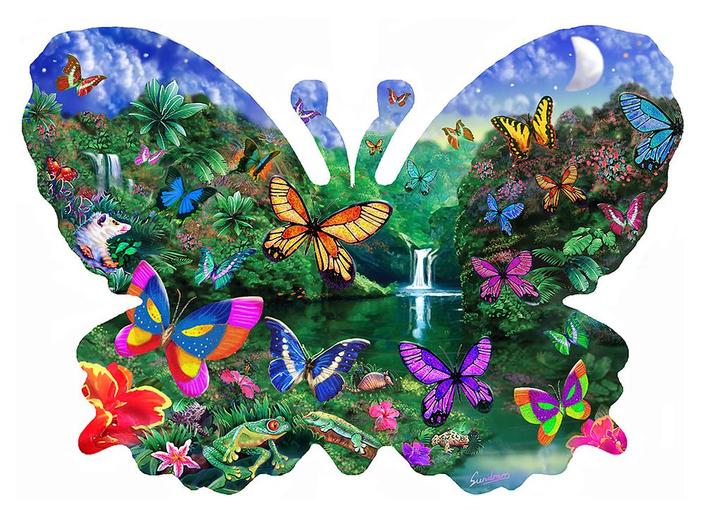 Butterfly shape Kingdom