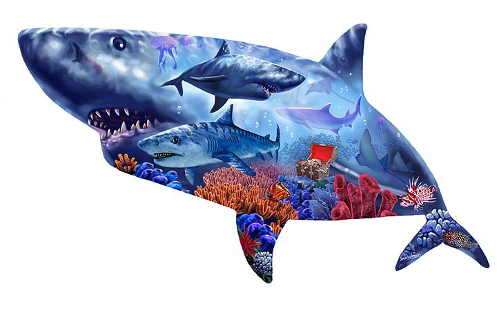 Shark shape Kingdom