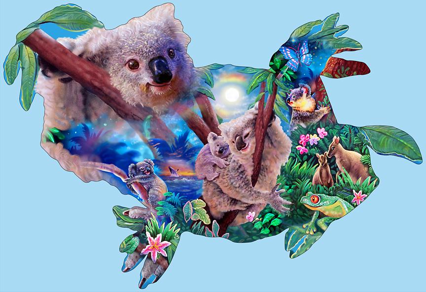 Koala shape Kingdom
