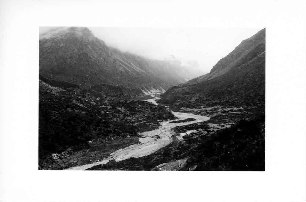 Ghunsa Khola, near Kambachen.
