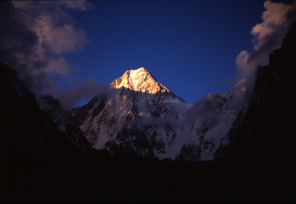 West face from base camp.