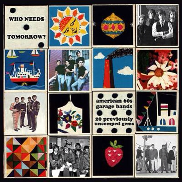 Studio jams. 'Who needs tomorrow? American 60's Garage Bands' All day long.
