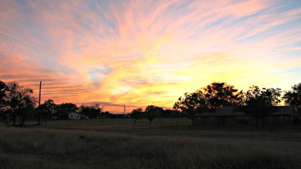 Rural Sunset