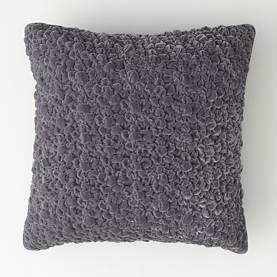 "Textured Velvet dec pillow 18"" x 18"""
