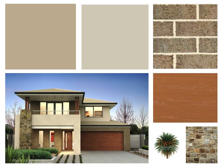 Colour Inspiration Board   Beach House Exterior U2014 Dwell South Coast    Colour Consultant + Decorator