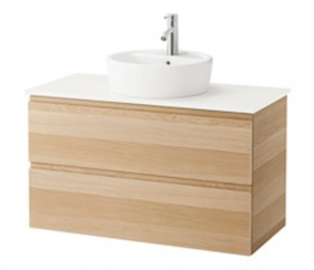 early settler bathroom vanity. we are sharing our favourite 5 bathroom vanities which would suit a variety of coastal bathrooms - they vary quite lot in cost but not style! early settler vanity
