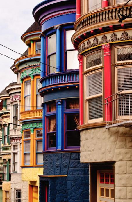 San Francisco's 'Painted Ladies'