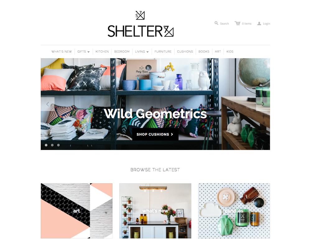 Shelter 7 Website