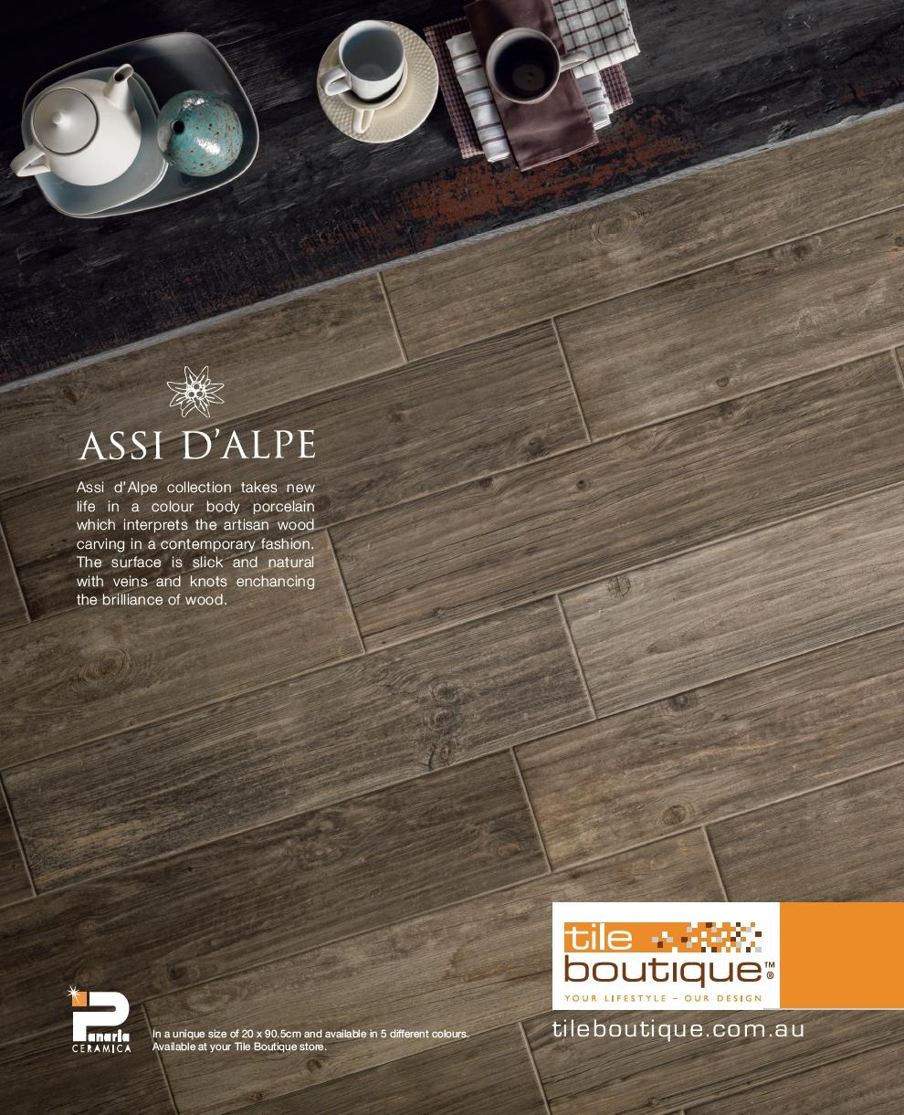 Tile Boutique Home Design Magazine Advert