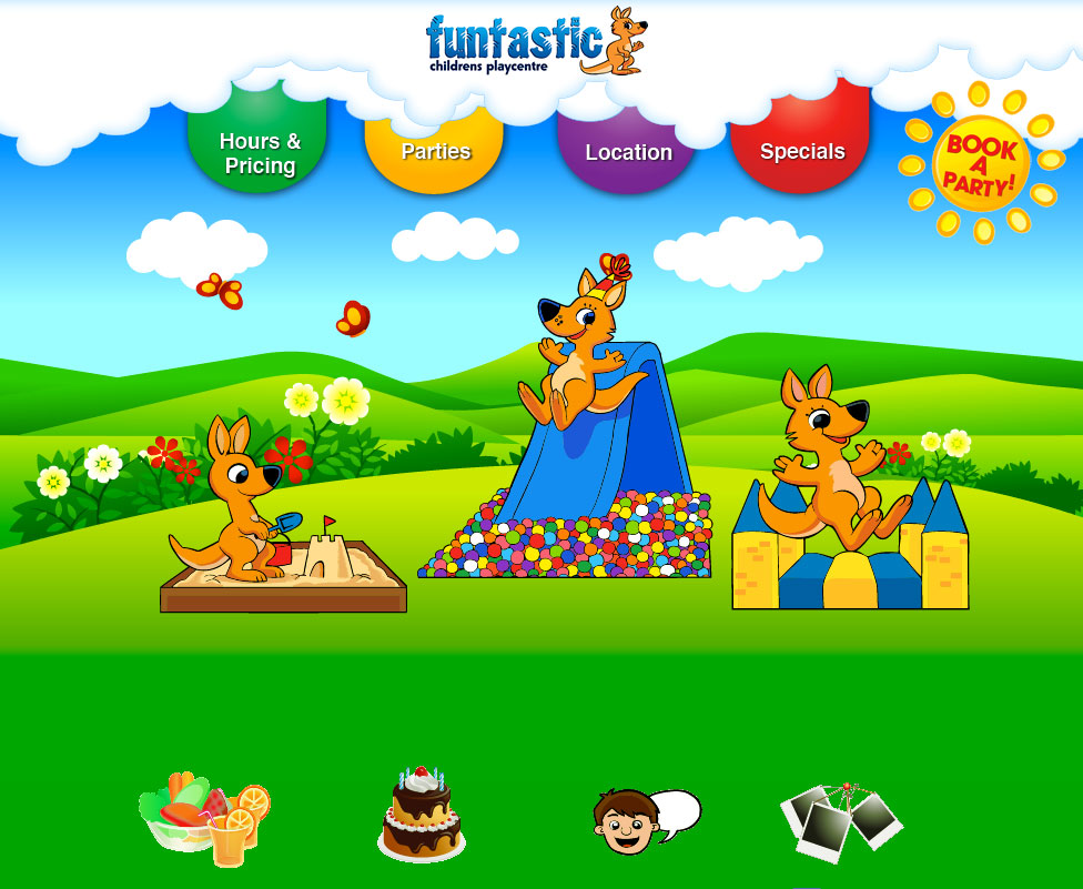 Funtastic Website